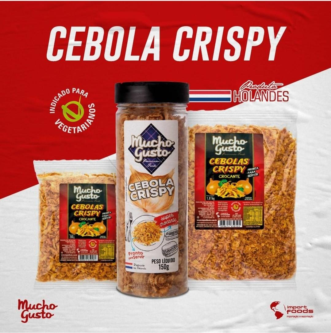 Cebola Crispy
